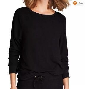 Wildfox Black Beach Sweatshirt